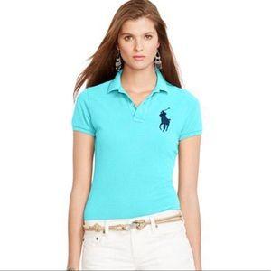 New Polo Ralph Lauren Women's Big Pony Polo shirt
